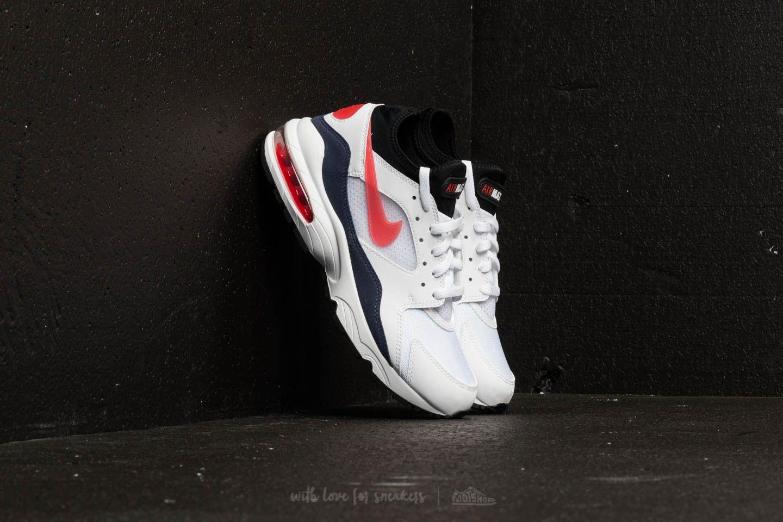 Nike Air Max 93 White/ Habanero Red | Footshop