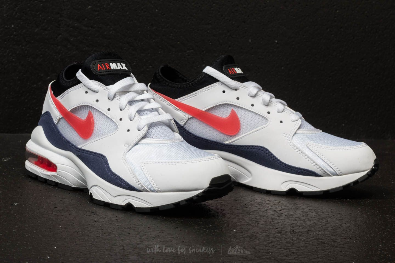 Nike Air Max 93 White Habanero Red | Footshop