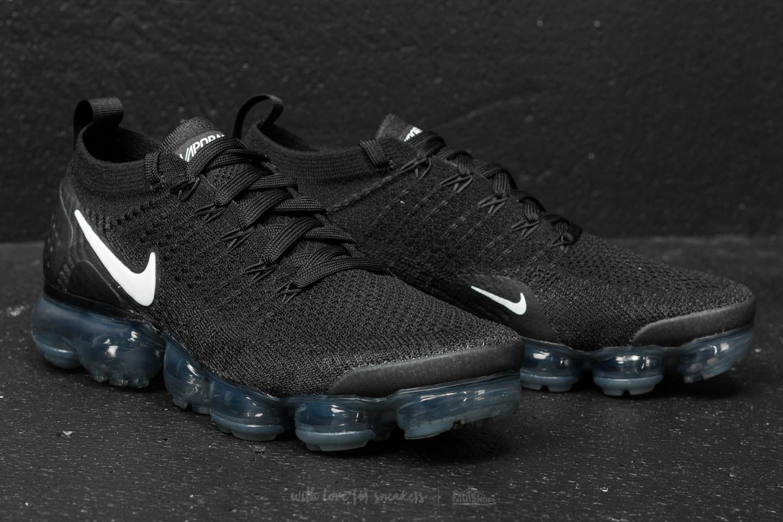 new photos ff203 fdde0 Nike Air Vapormax Flyknit 2 Black/ White-Dark Grey | Footshop