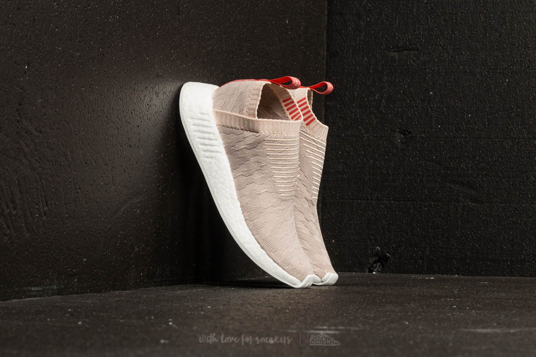 adidas NMD_CS2 Primeknit W Linen/ Vapor Grey/ Ftw White