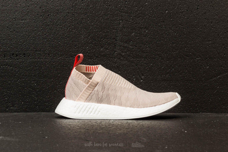 adidas NMD_CS2 Primeknit W Linen Vapor Grey Ftw White | Footshop