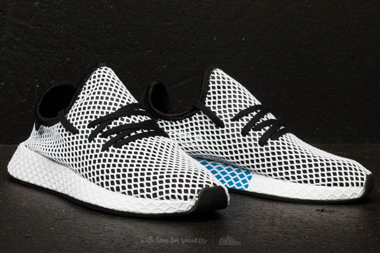 buy online f56ff ccb99 ... hot sale online b0daf 1fce3 adidas Deerupt Runner Core Black Core Black  Ftw White at a ...