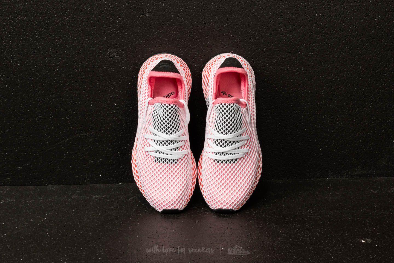 adidas Deerupt Runner W Chalk Pink Chalk Pink Bold Orange
