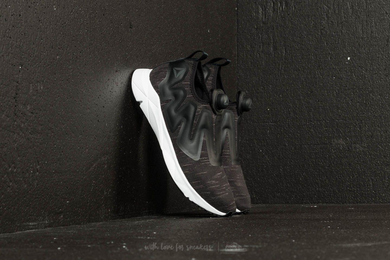 Reebok Pump Supreme Distressed Black/ White/ Ash Grey