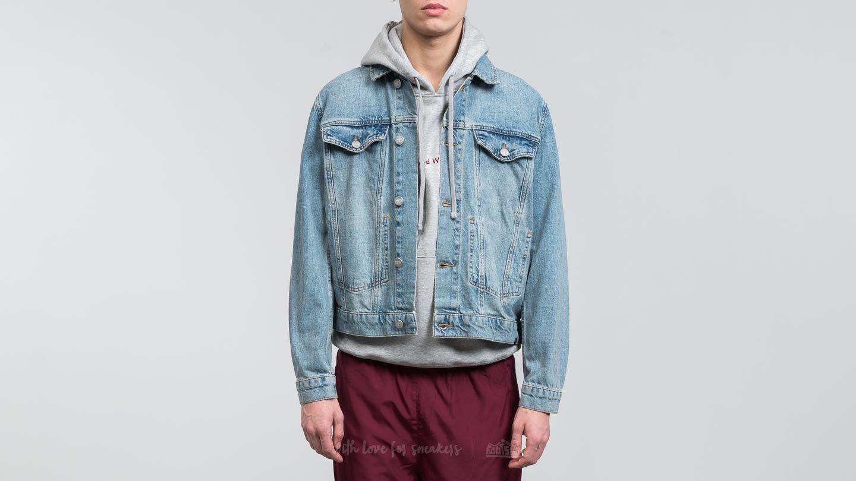 WOOD WOOD Angel Jacket Light Blue Vintage za skvělou cenu 2 190 Kč koupíte na Footshop.cz
