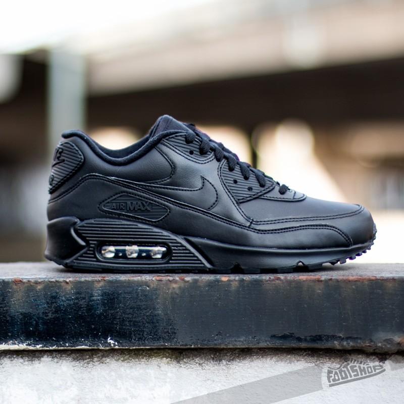 ee21df6e9a ... 302519 001 e25f9 2581b; ireland nike air max 90 leather black a muy  buen precio 140 comprar en footshop ffce1