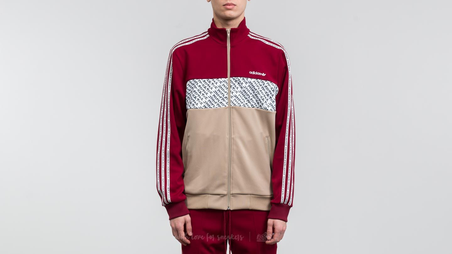 08f84fa11aa68 adidas x United Arrows   Sons x Mikitype Tracksuit Core Burgundy ...