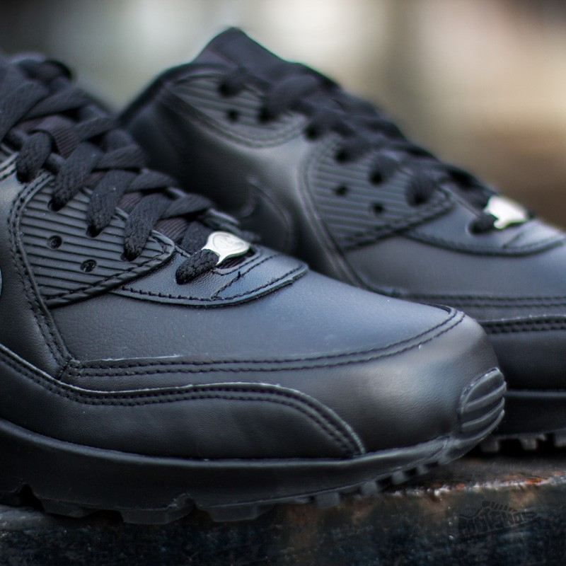 Nike Air Max 90 Leather Black  Black at a great price 139 € buy at 5be05c514