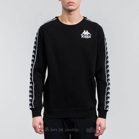 imitar Alarmante En cualquier momento  Sweatshirts Kappa Authentic Hassan Crew Sweatshirt Black
