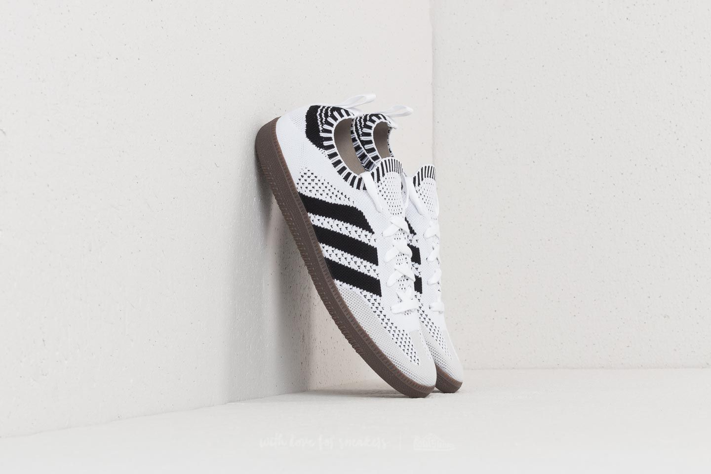 ad67878559d7 adidas Samba Primeknit Sock Ftw White  Core Black  Blue Bird ...