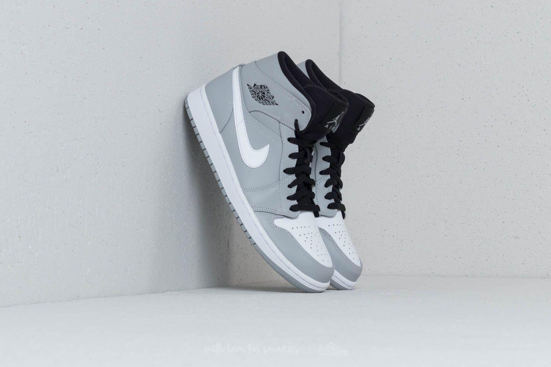 Men's shoes Air Jordan 1 Mid Wolf Grey