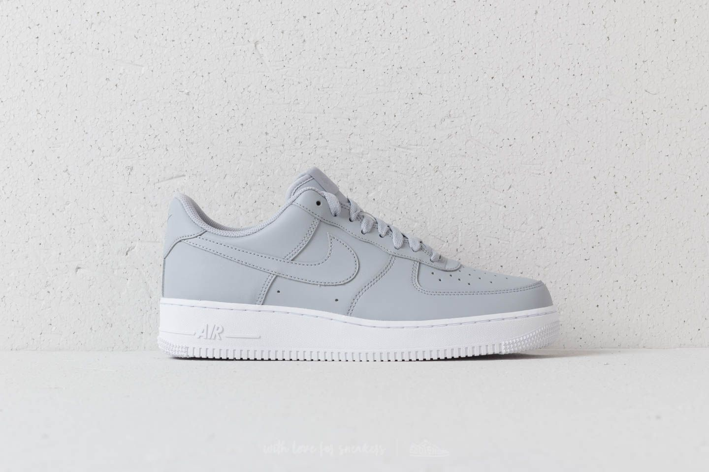 33ec3798b5c Nike Air Force 1 '07 Wolf Grey/ Wolf Grey-White at a great