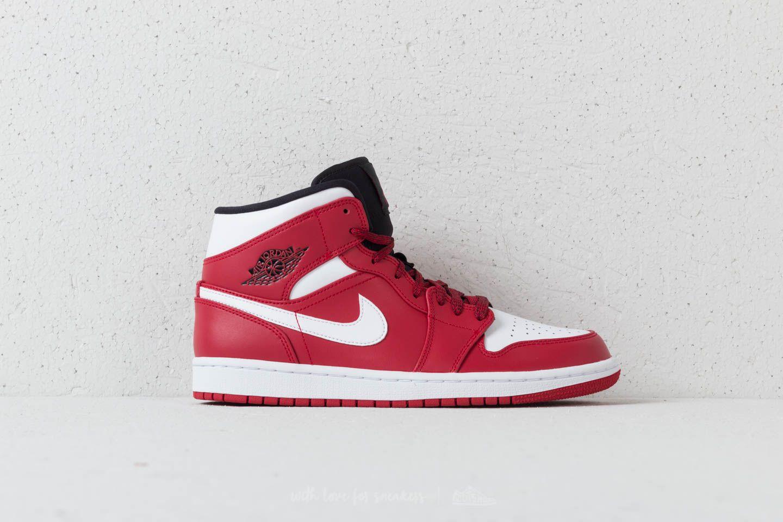 huge discount bd3ba f6346 Air Jordan 1 Mid Gym Red/ White-Black | Footshop