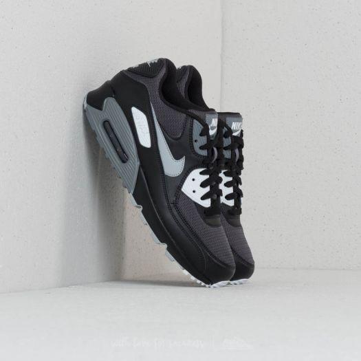 Nike Air Max 90 Essential Black Wolf Grey Dark Grey | Footshop