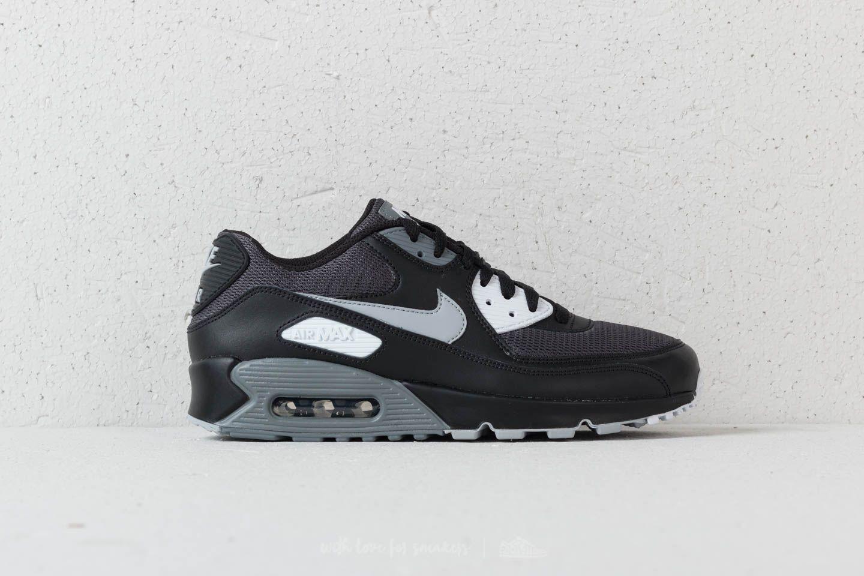 pretty nice 08916 9033c Nike Air Max 90 Essential Black  Wolf Grey-Dark Grey at a great price