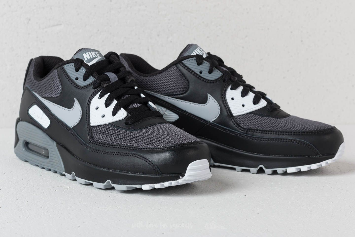 more photos acb57 5530c ... sale nike air max 90 essential black wolf grey dark grey at a great  price 265d8