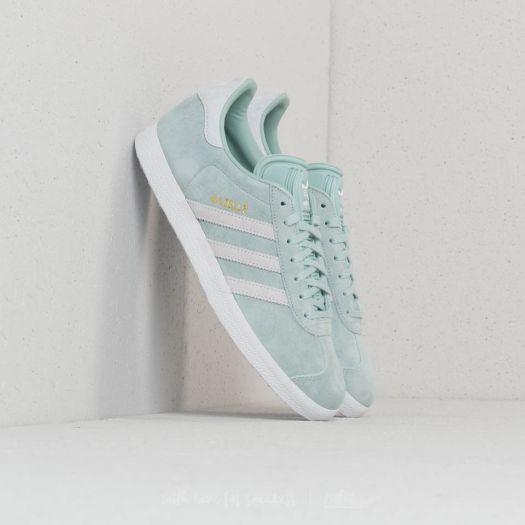 adidas Gazelle W Ash Green Ftw White Blue Tint Footshop  Footshop