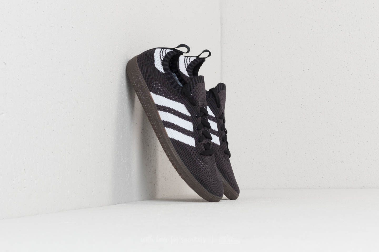 79004ad00332 adidas Samba Primeknit Sock Core Black  Ftw White  Core Red ...