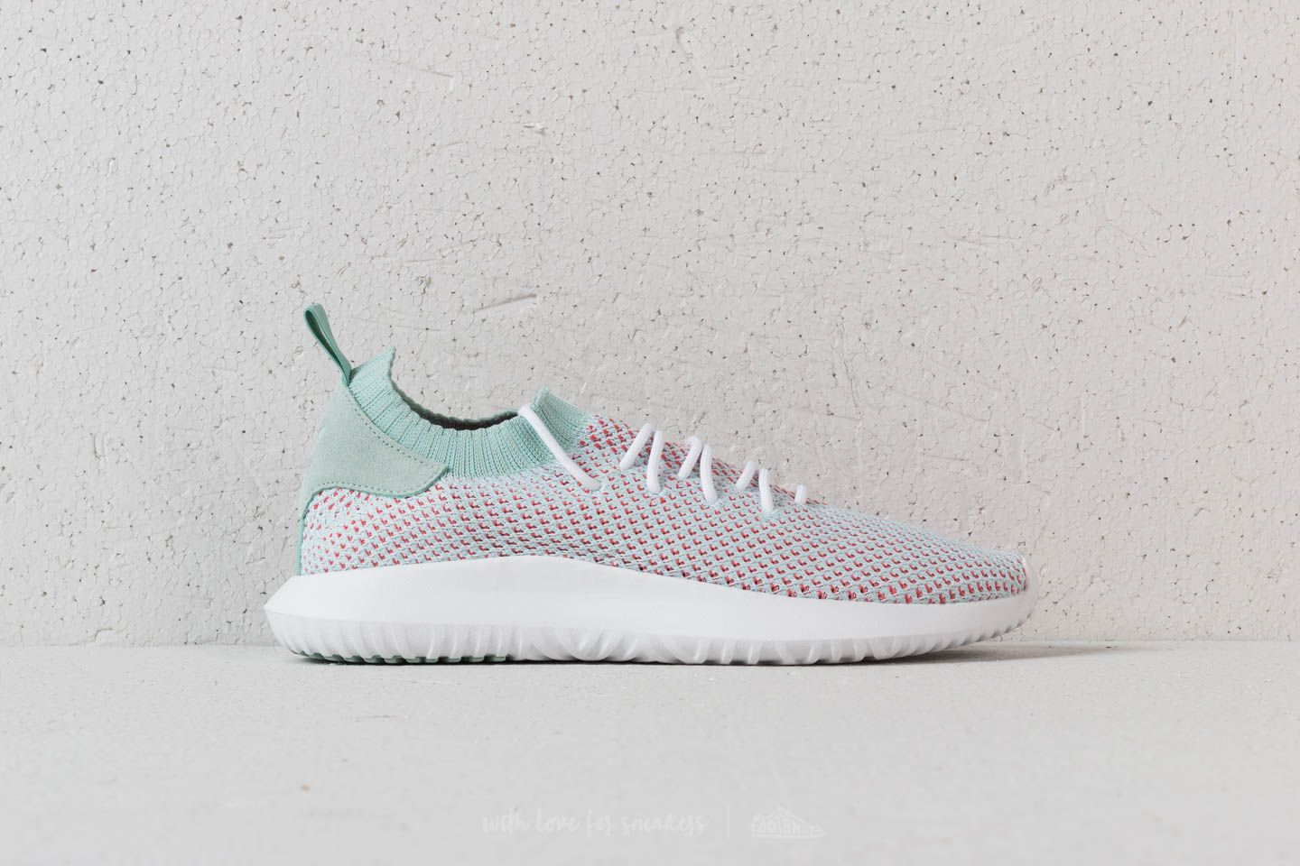 adidas Tubular Shadow Primeknit Ftw White  Ash Green  Trace Scarlet at a  great price 8f5134323