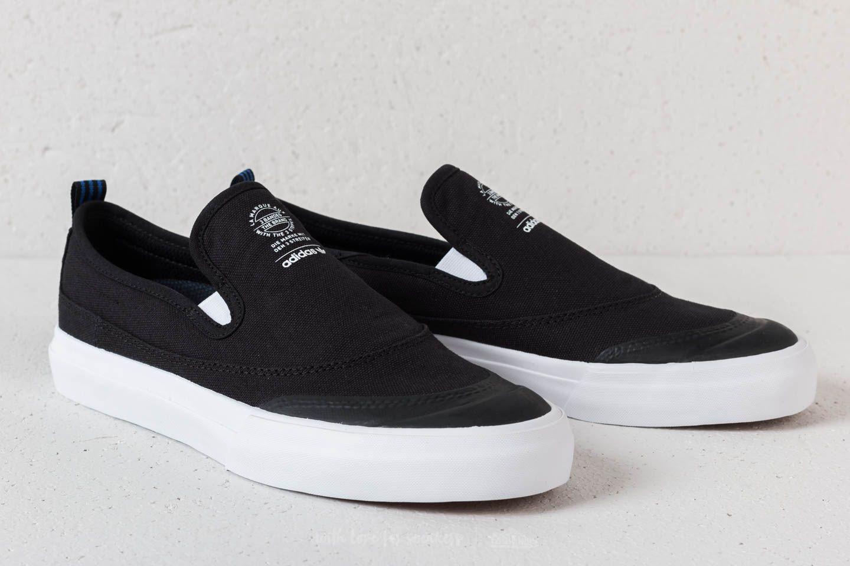 Adidas Matchcourt Slip Skateboard Shoe NavyWhiteGum