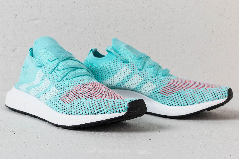Femme Adidas Originals Swift Run Primeknit Clear Aqua