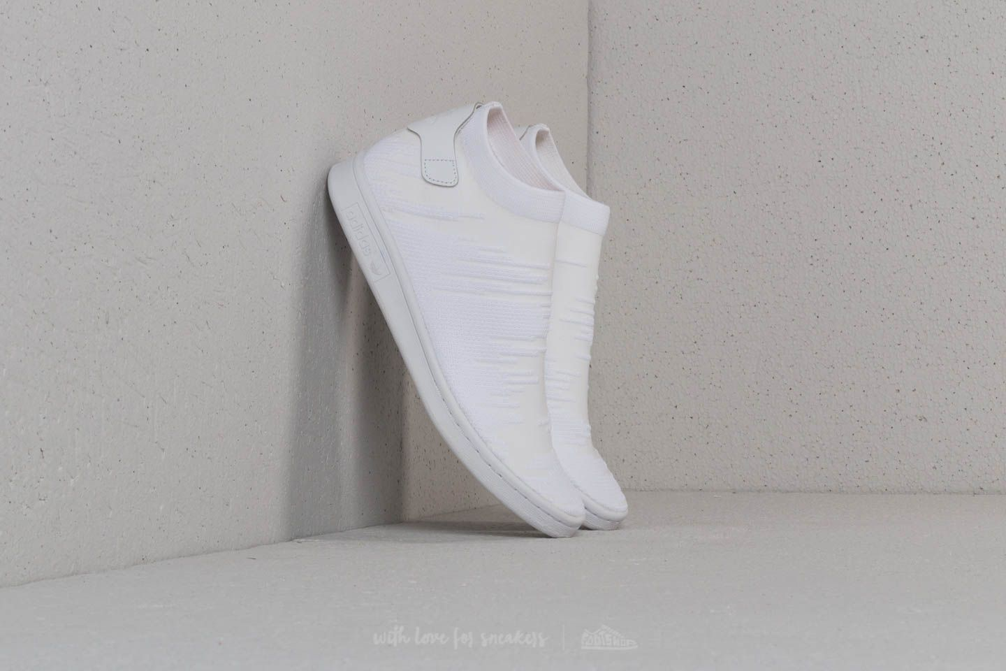 sports shoes 1f422 8d78b adidas Stan Smith Sock Primeknit W Ftw White Ftw White Ftw White at a