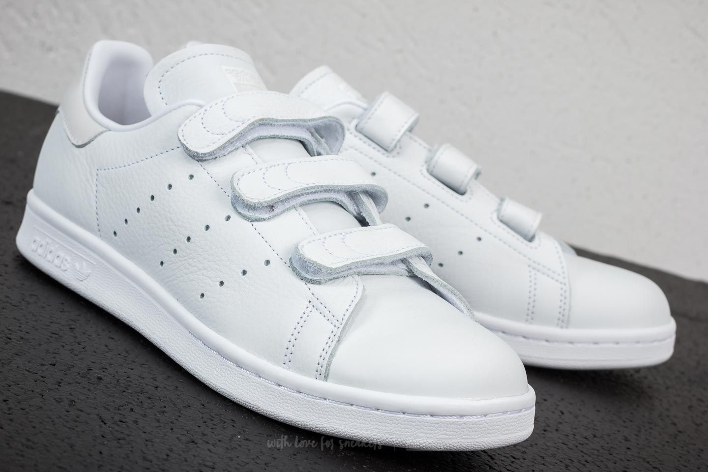 separation shoes 9b8d0 5cad2 adidas Stan Smith CF Ftw White/ Ftw White/ Ftw White | Footshop