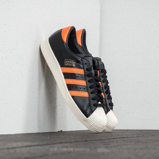 adidas Superstar OG Core Black Tra Orange Off White | Footshop