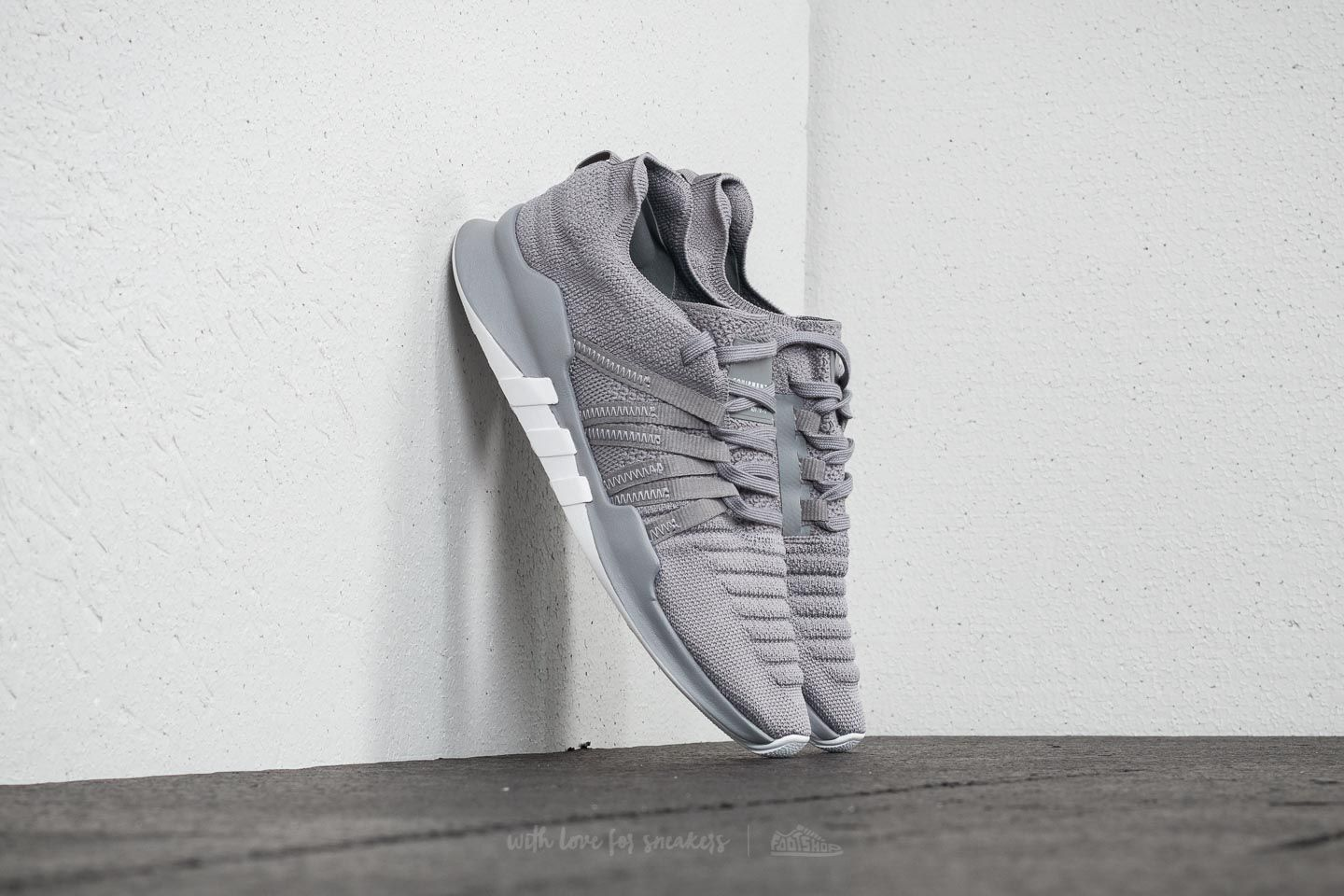 Women's shoes adidas EQT Racing ADV Primeknit W Grey Three/ Grey Three/ Ftw White