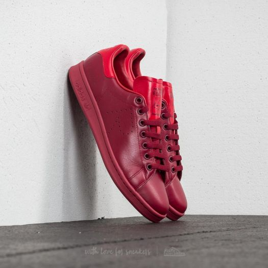 finest selection fa7e2 bd00c adidas x Raf Simons Stan Smith Core Burgundy/ Power Red ...