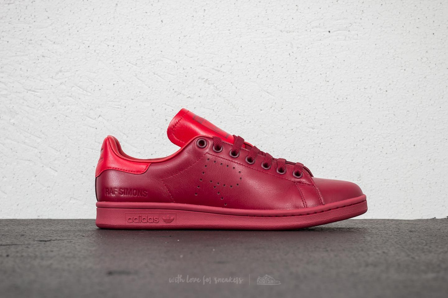 0316b97313c3 adidas x Raf Simons Stan Smith Core Burgundy  Power Red  Core Burgundy at a