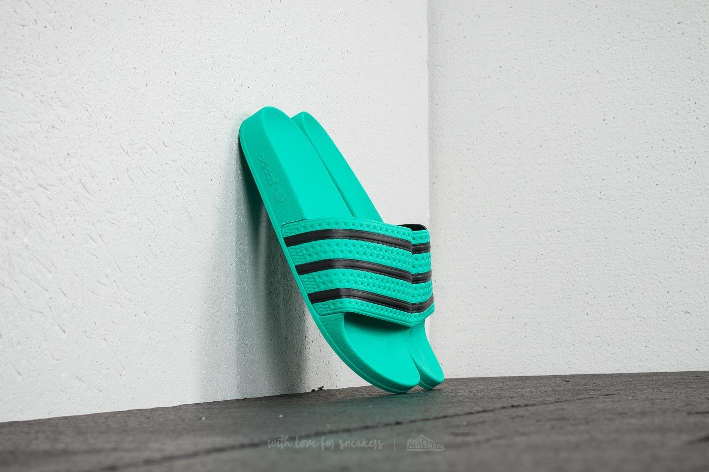 8e221b41781 adidas Adilette Hire Green  Core Black  Hire Green