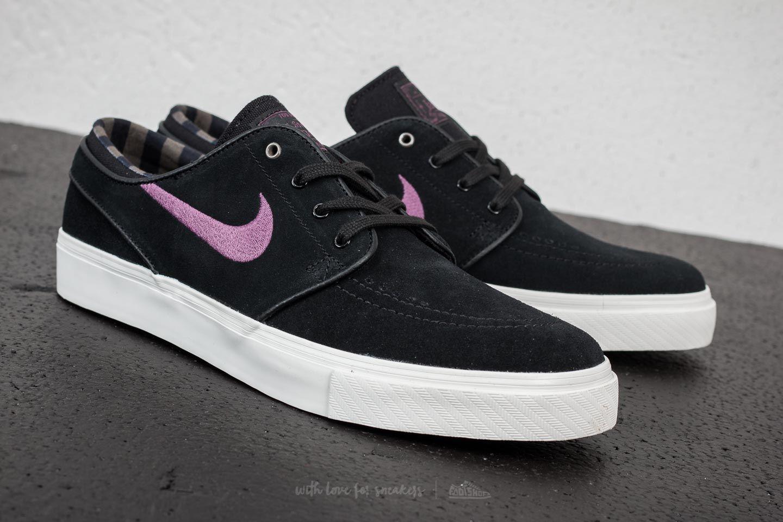 Nike SB Zoom Stefan Janoski Black  Pro Purple-Ridgerock at a great price 84 9159888e13c0