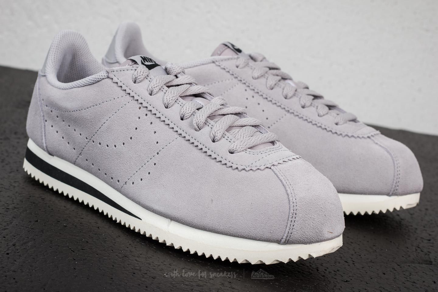 Nike Classic Cortez Suede Atmosphere Grey at a great price £54 buy at  Footshop 62bac2faf