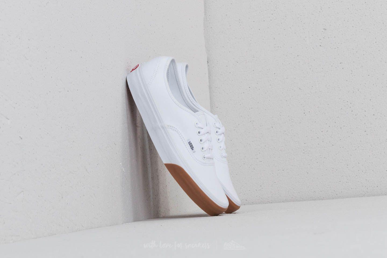Vans gum Bumper Gum White Authentic Footshop True qHqwOBr6