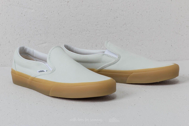 shoes Vans Classic Slip-On Blue Flower/ Gum