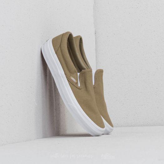 Vans Classic Slip On (Mono Canvas) Boa | Footshop