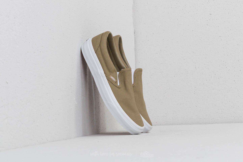 531d356f6014b5 Vans Classic Slip-On (Mono Canvas) Boa