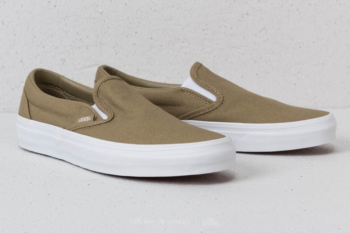 Canvas Boa Vans Classic mono Footshop Slip On 6pTf8