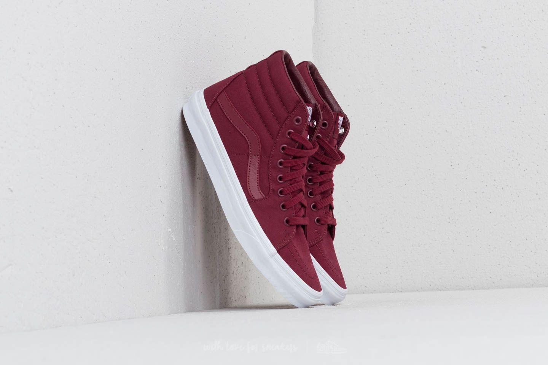 Men's shoes Vans SK8-Hi (Mono Canvas