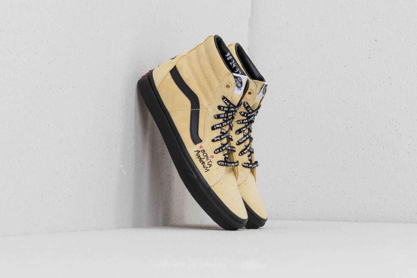 Vans SK8-Hi (A Tribe Called Quest) Mellow Yellow  Spec  17e8b119e