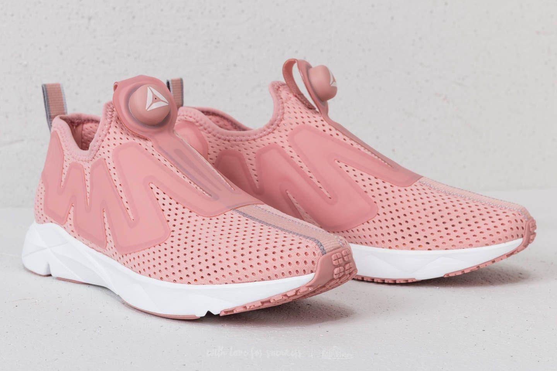 Reebok Pump Supreme Tape Pink Porcelain Grey Pink | Footshop