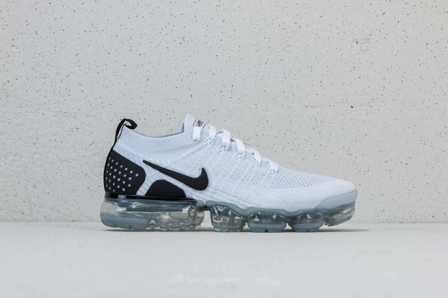online store f3107 0a85c Nike Air Vapormax Flyknit 2 White/ Black-Black | Footshop