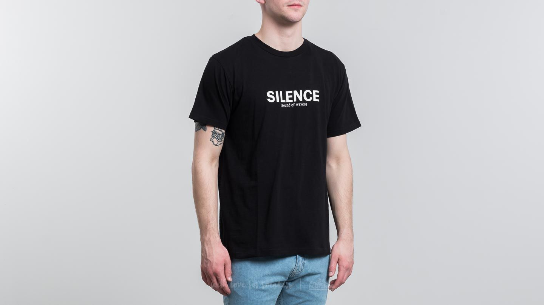 WOOD WOOD Perry T-Shirt Black za skvělou cenu 600 Kč koupíte na Footshop.cz