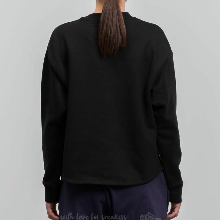 My Dear clothing Dragon Cropped Crewneck Black