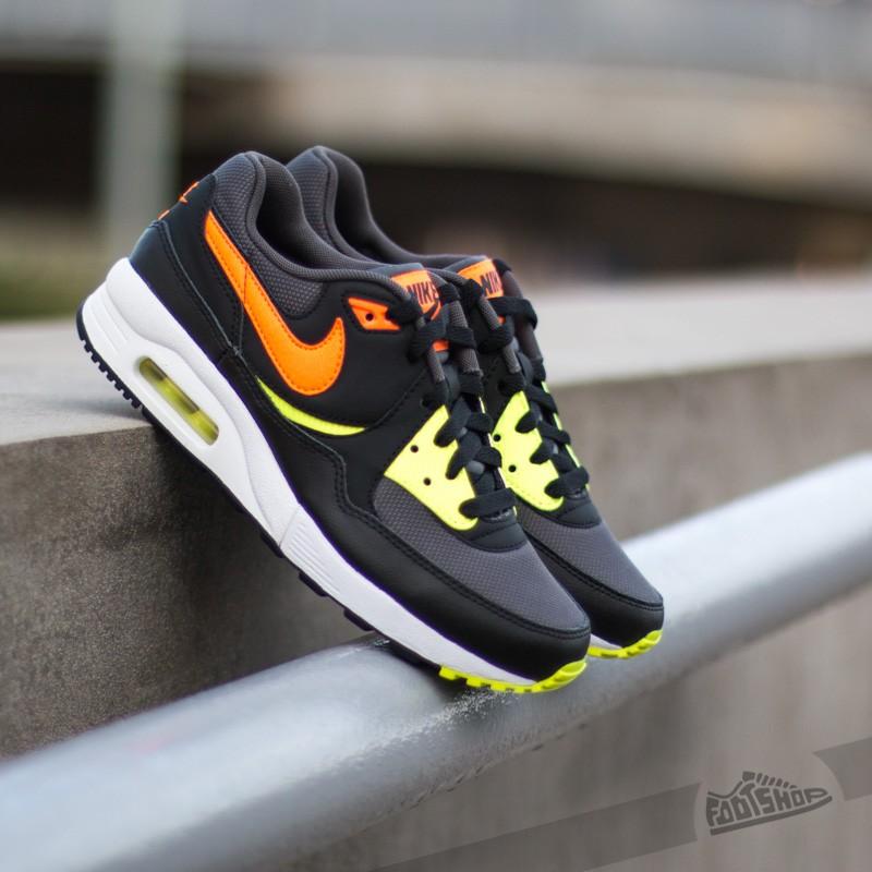 Nike Air Max Light (GS) Dark Grey Total Orange Black
