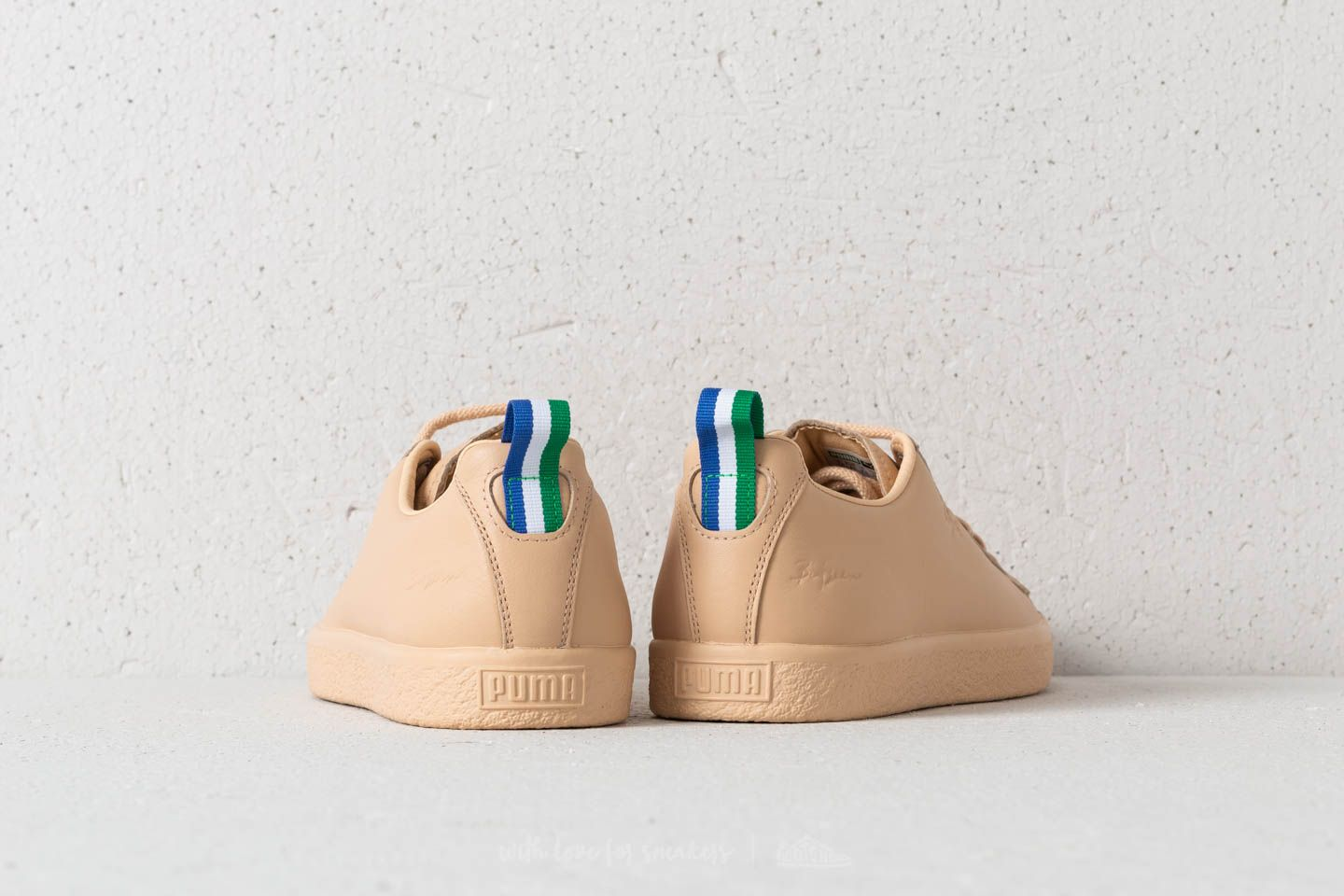Clyde Vachetta Natural Big Puma X Sean Footshop fwqAztF