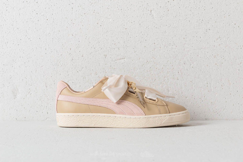 baskets heart puma