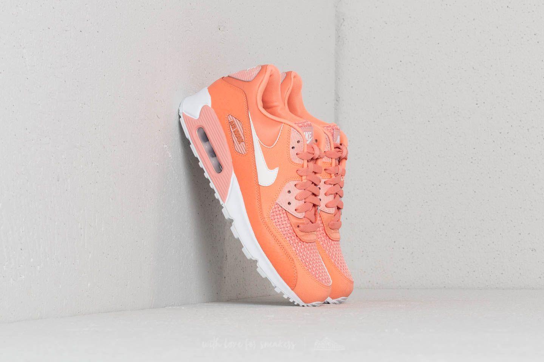 Nike Wmns Air Max 90 SE Crimson Bliss/ White