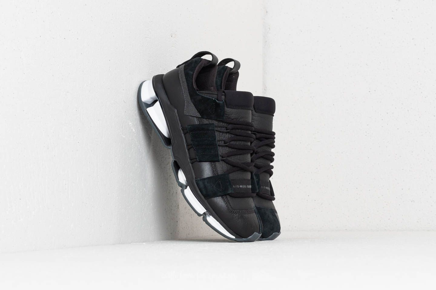 f184b46e7420 adidas Twinstrike ADV Stretch Leather Core Black  Ftw White  Core Black at  a great